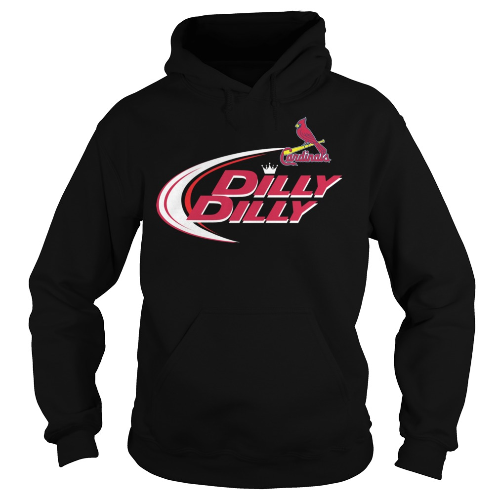 Baseball Mlb St Louis Cardinals Dilly Dilly Hoodie