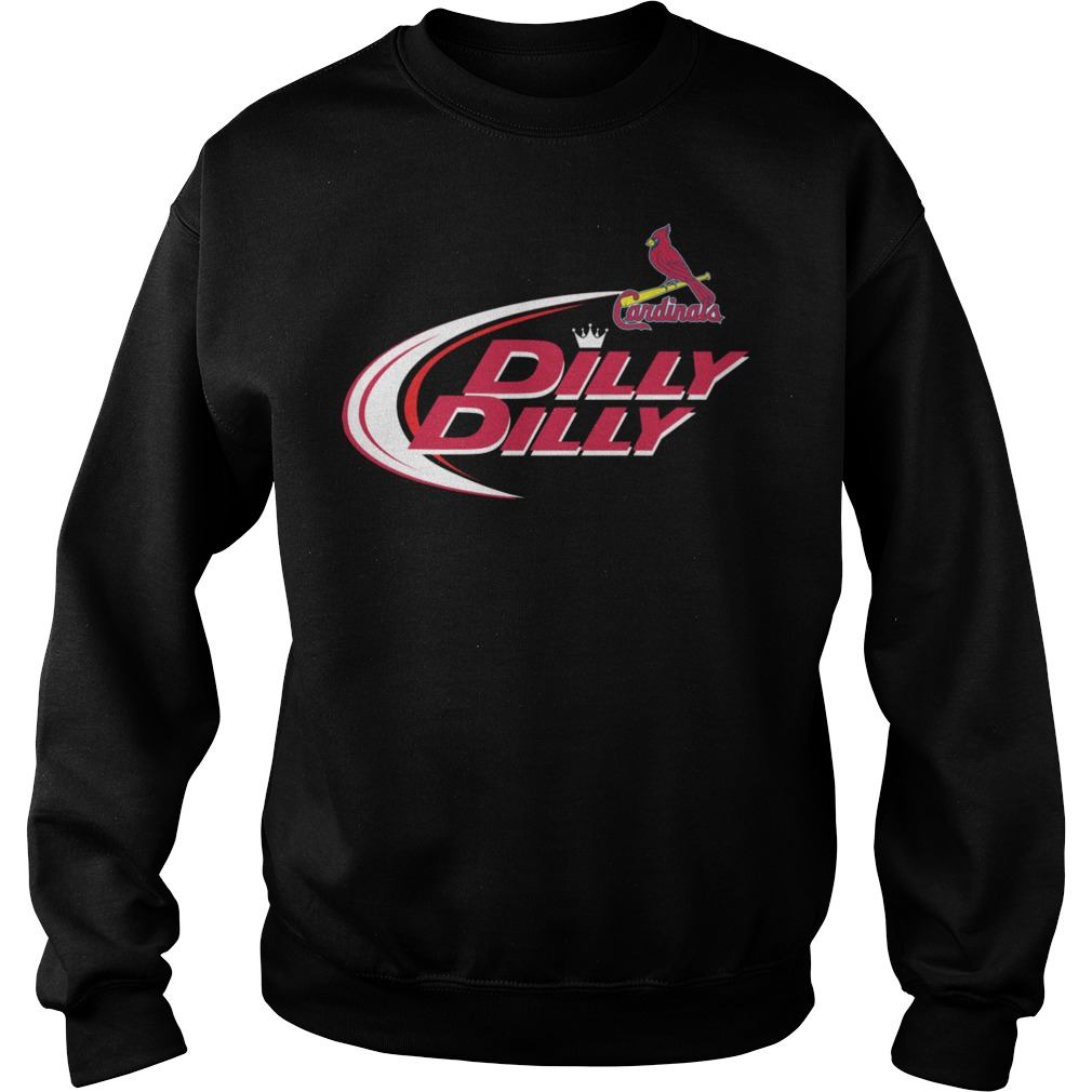 Baseball Mlb St Louis Cardinals Dilly Dilly Sweater
