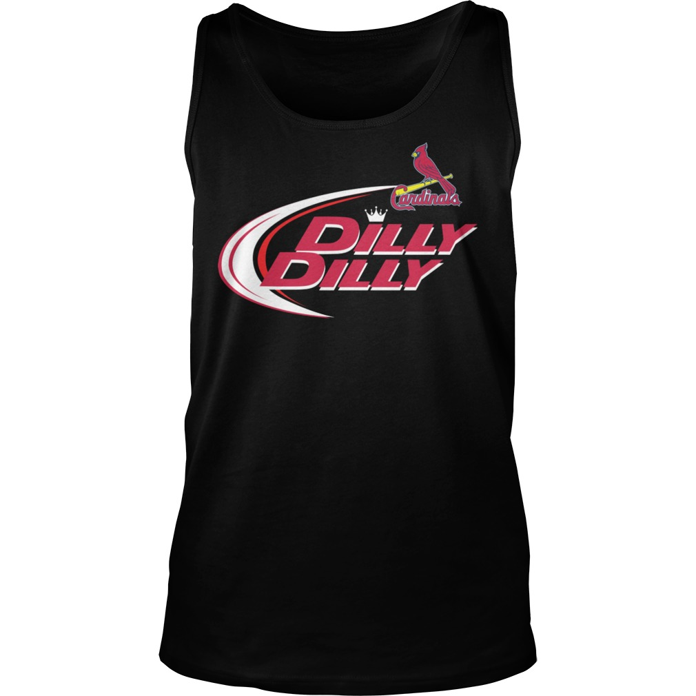 Baseball Mlb St Louis Cardinals Dilly Dilly Tanktop
