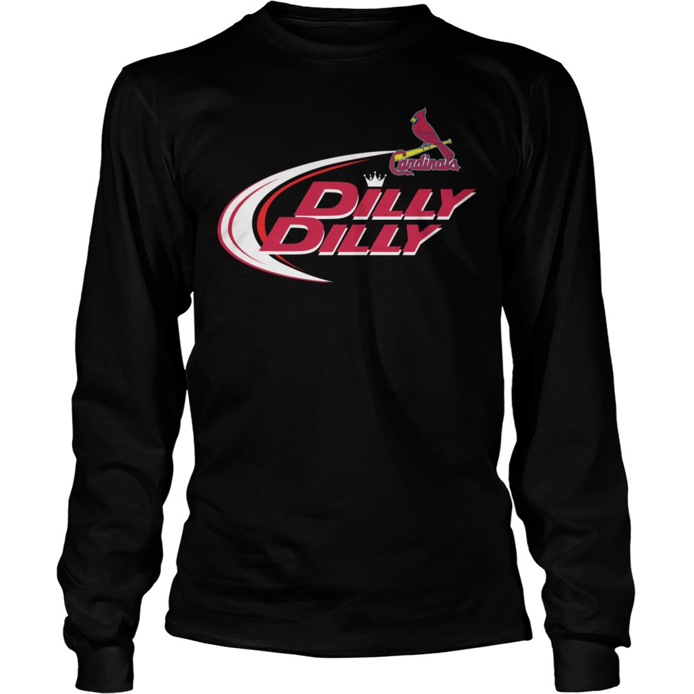Baseball Mlb St Louis Cardinals Dilly Dilly Longsleeve
