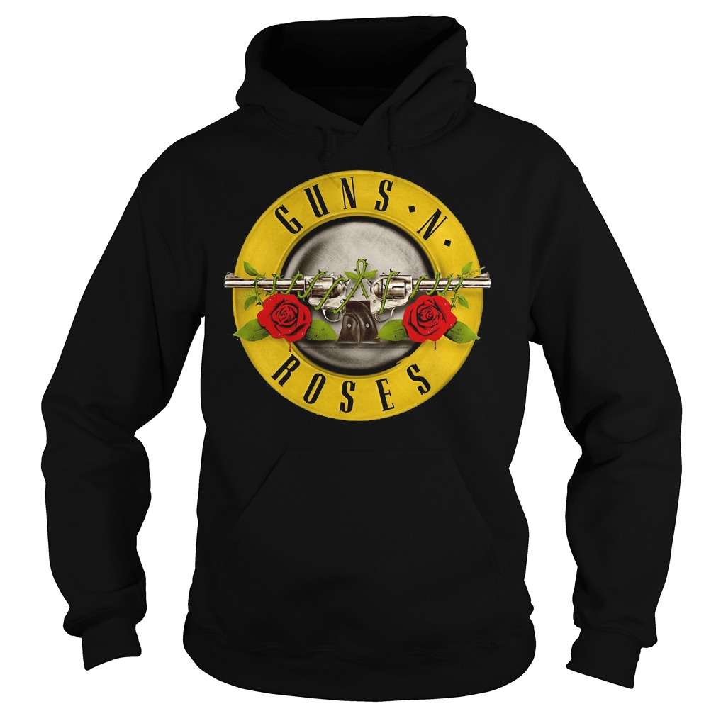 Guns N Roses Classic Bullet Logo Hoodie