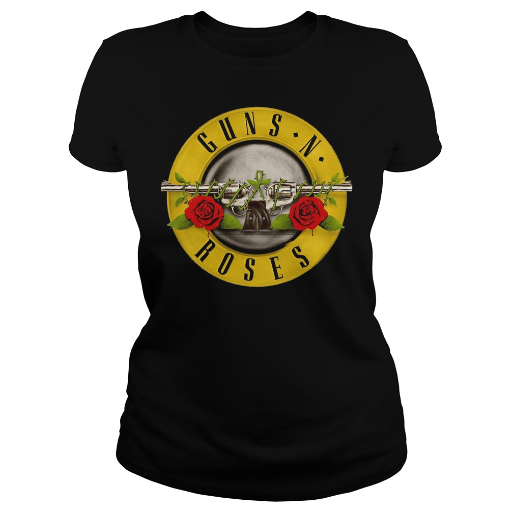 Guns N Roses Classic Bullet Logo Ladies
