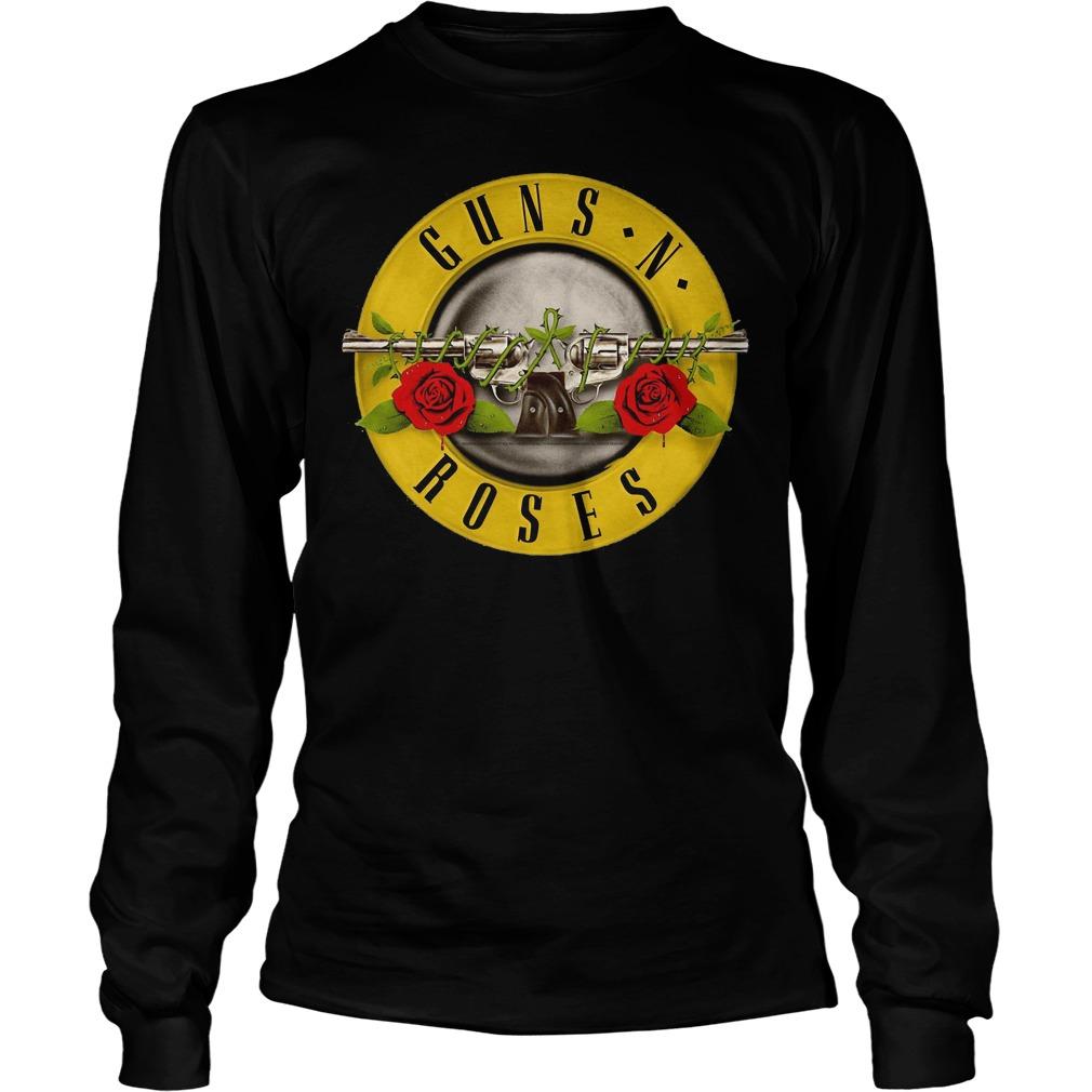 Guns N Roses Classic Bullet Logo Longsleeve