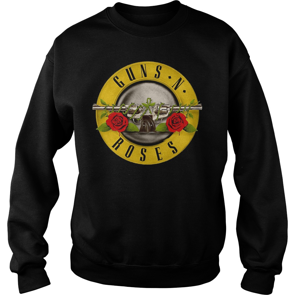 Guns N Roses Classic Bullet Logo Sweater