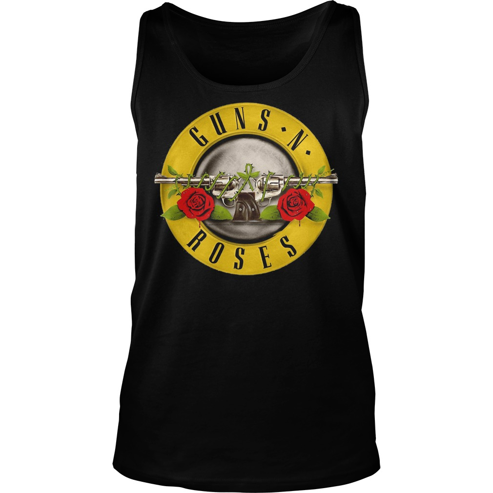 Guns N Roses Classic Bullet Logo Tanktop