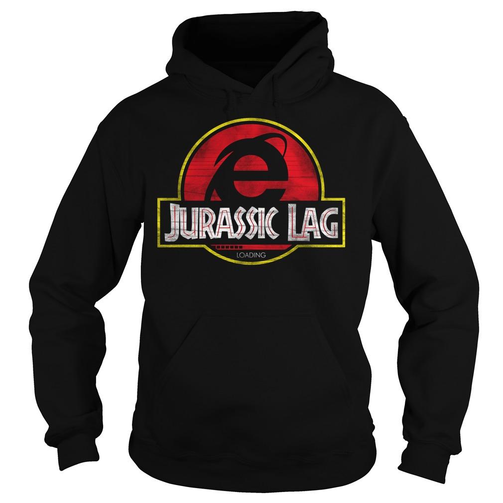 Internet Explorer Jurassic Lag Loading Hoodie