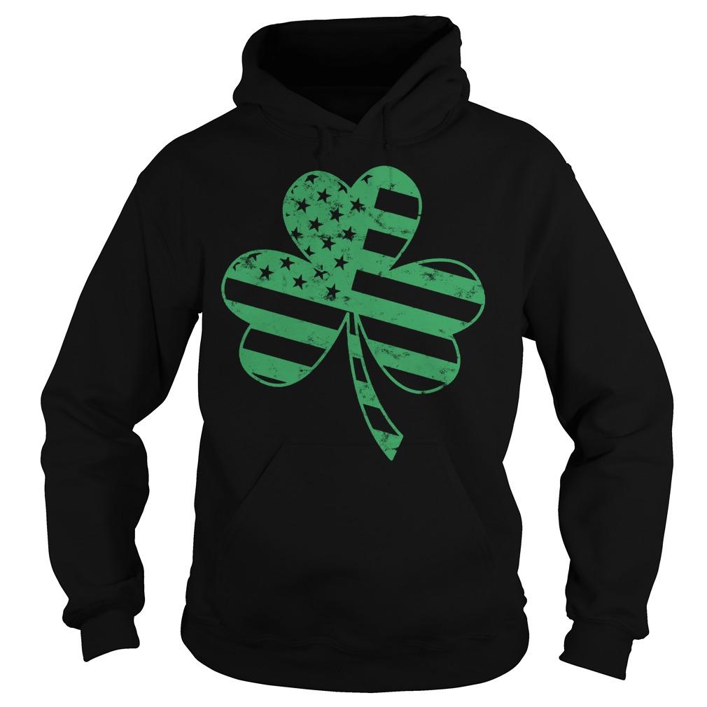 Irish American Flag Shamrock Shirt 2