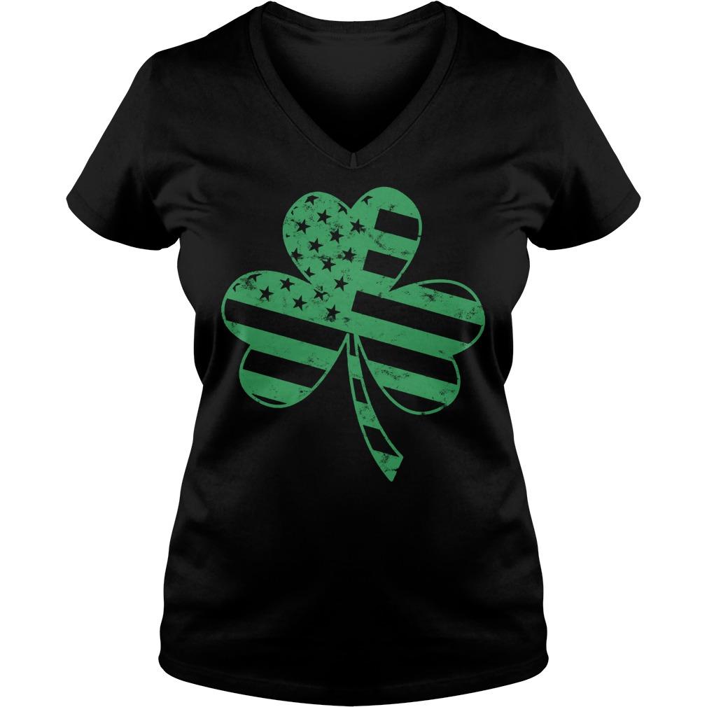 Irish American Flag Shamrock Shirt 7