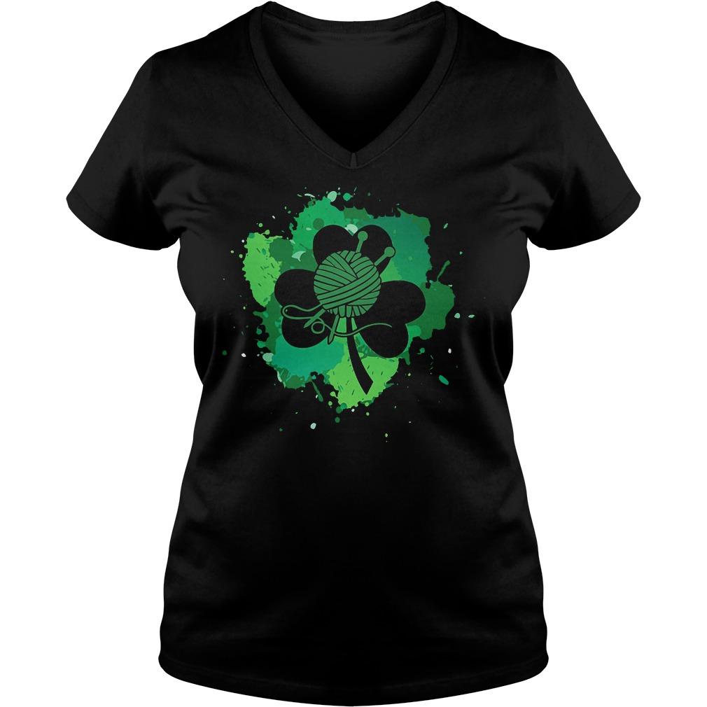 Knit Irish V Neck
