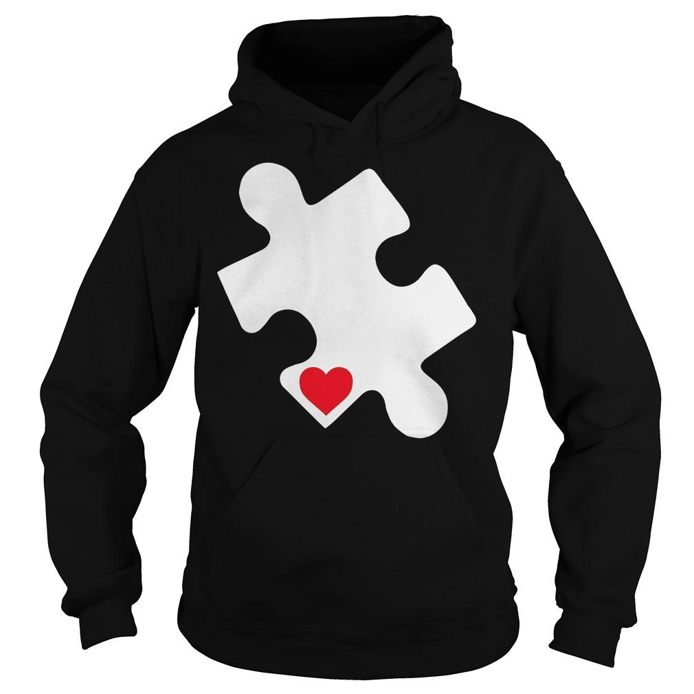 Love Autism Awareness Hoodie
