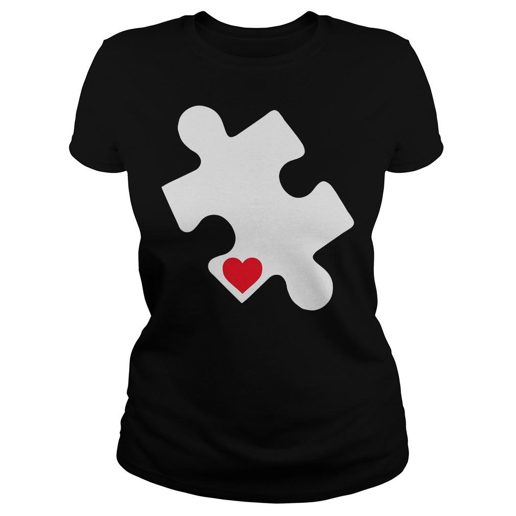 Love Autism Awareness Ladies