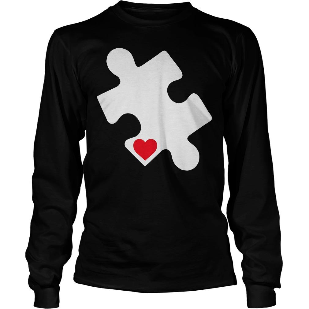 Love Autism Awareness Longsleeve