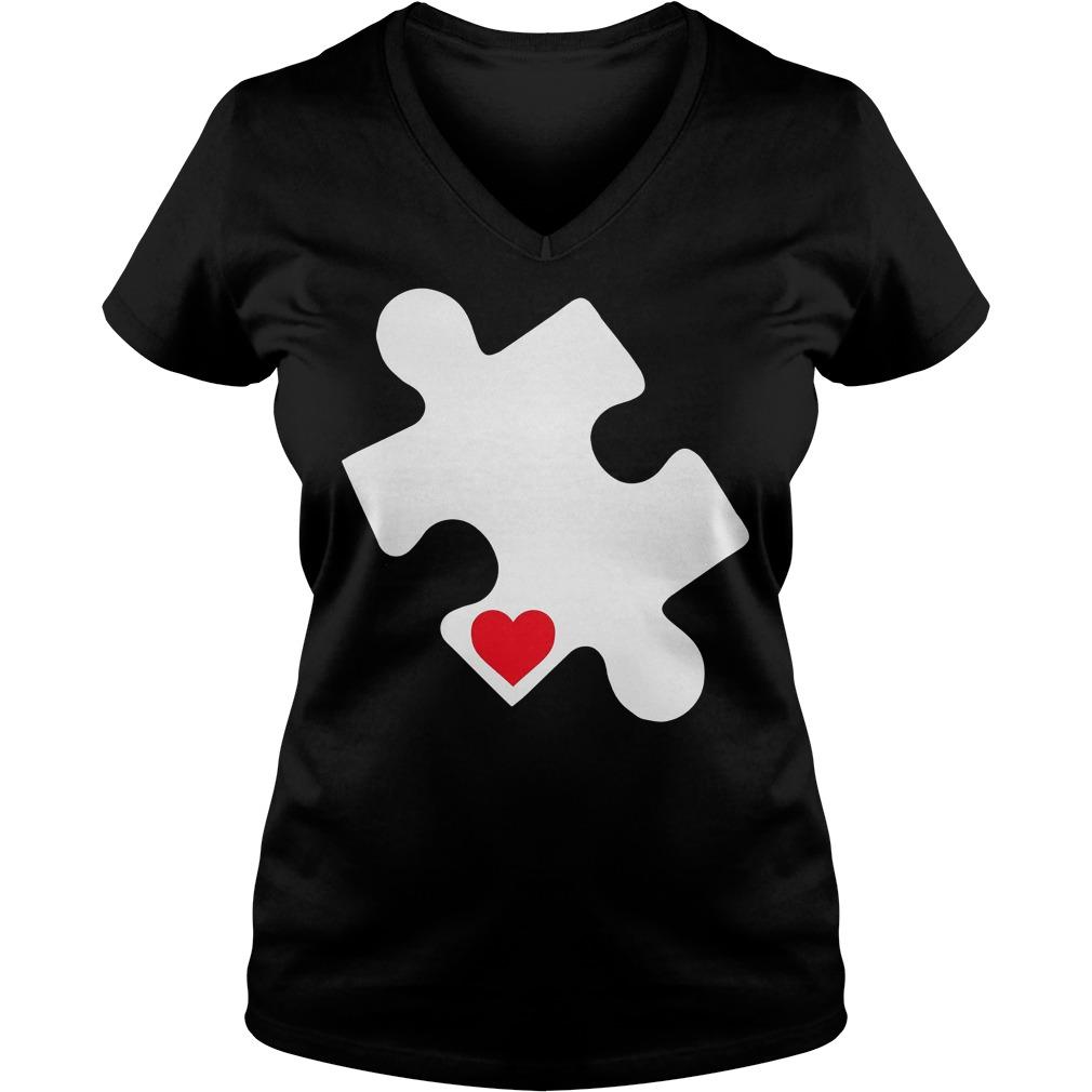 Love Autism Awareness V Neck