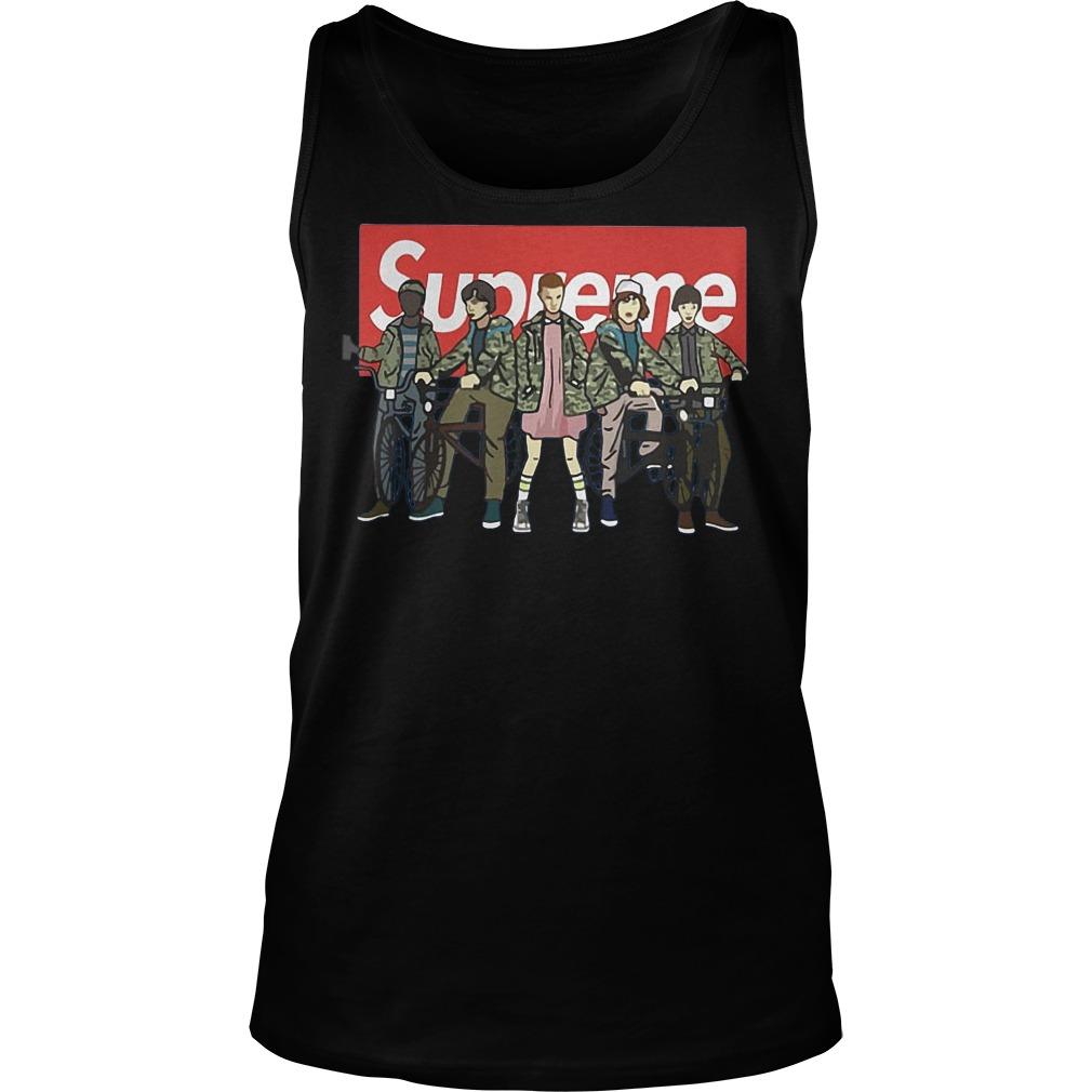 Official Supreme Stranger Things Shirt, Hoodie, Sweater, Longsleeve T-Shirt 6