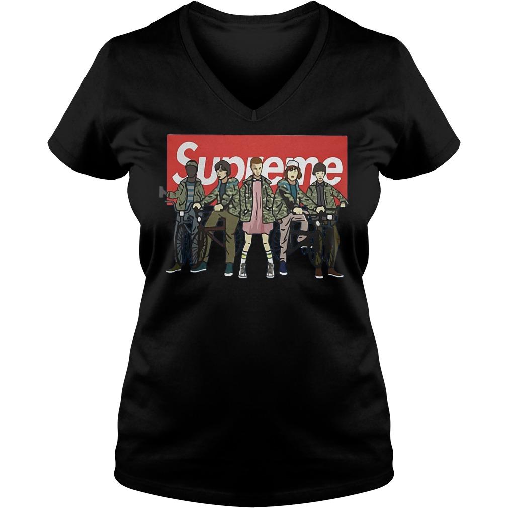 Official Supreme Stranger Things Shirt, Hoodie, Sweater, Longsleeve T-Shirt 7