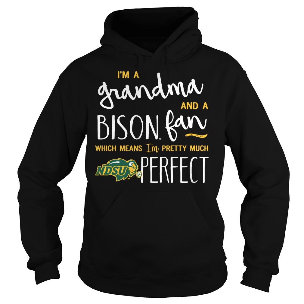 Perfect Grandma North Dakota State Bison Fan Hoodie