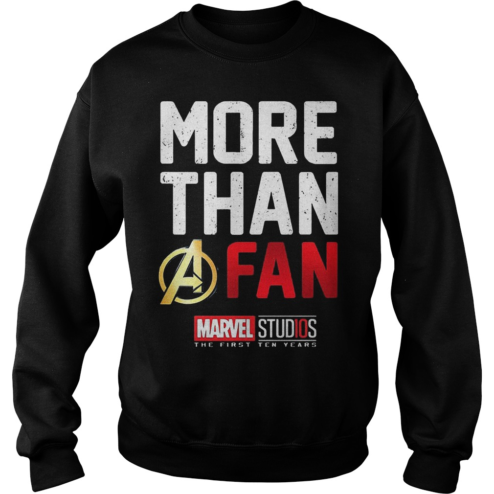 More Than A Fan Marvel Studios Sweater