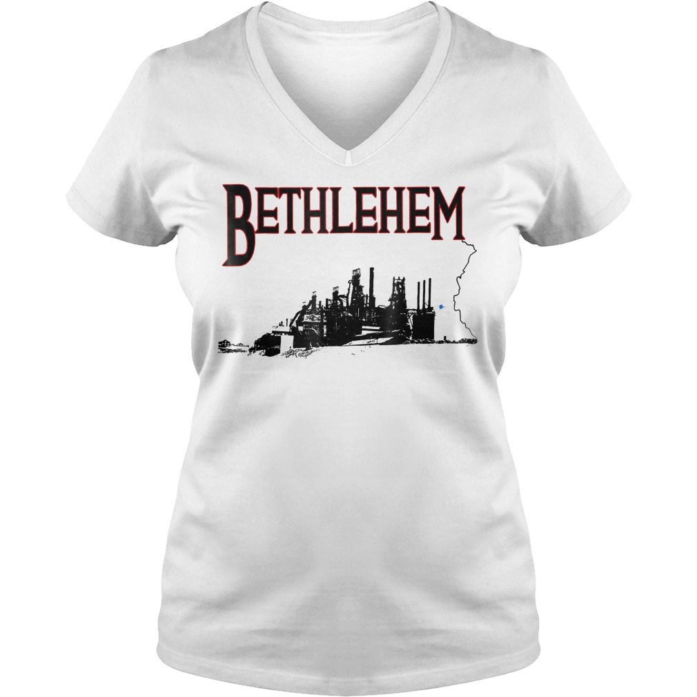 Bethlehem Pennsylvania Pa V Neck