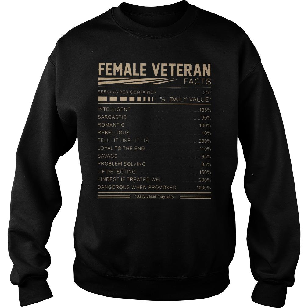 Female Veteran Daily Value Sweater