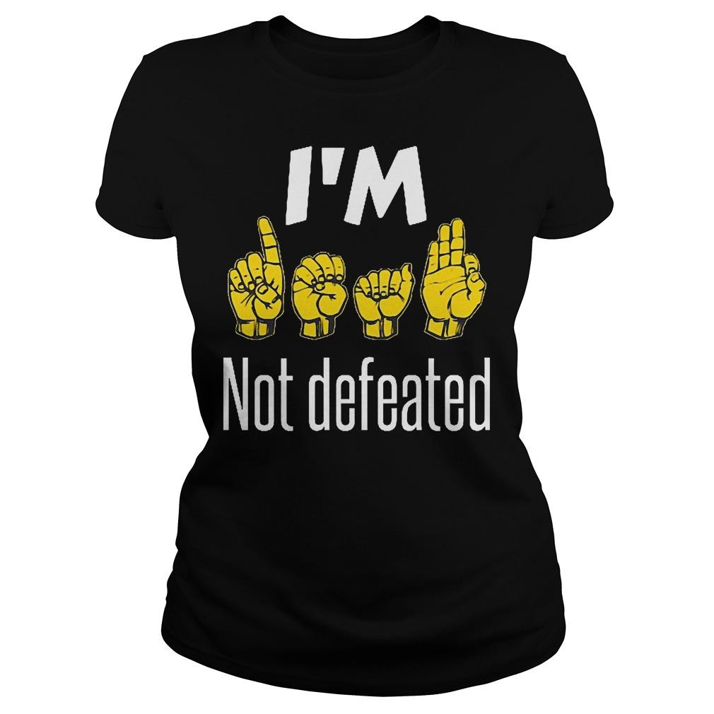 I'm Sign Language No Defeated Ladies