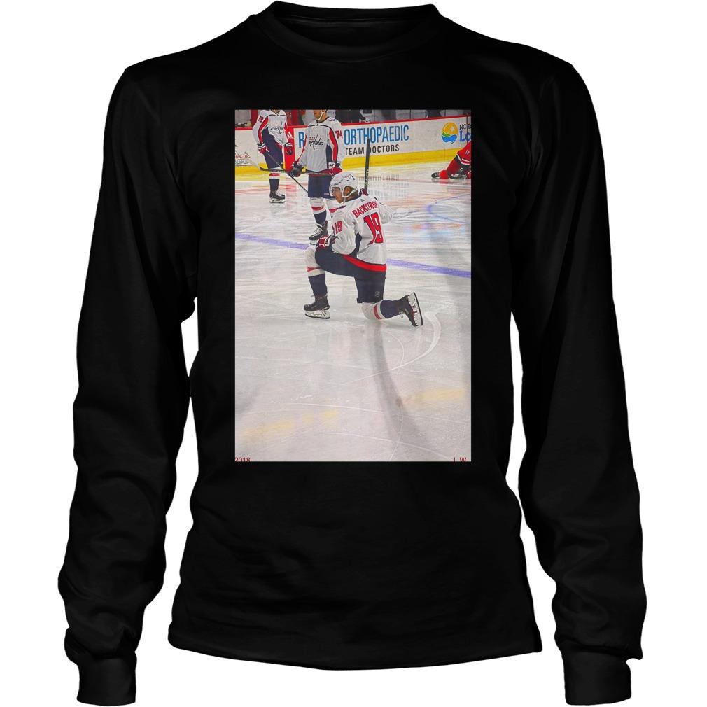 Stanley Cup 2018 Nicklas Backstrom Longsleeve