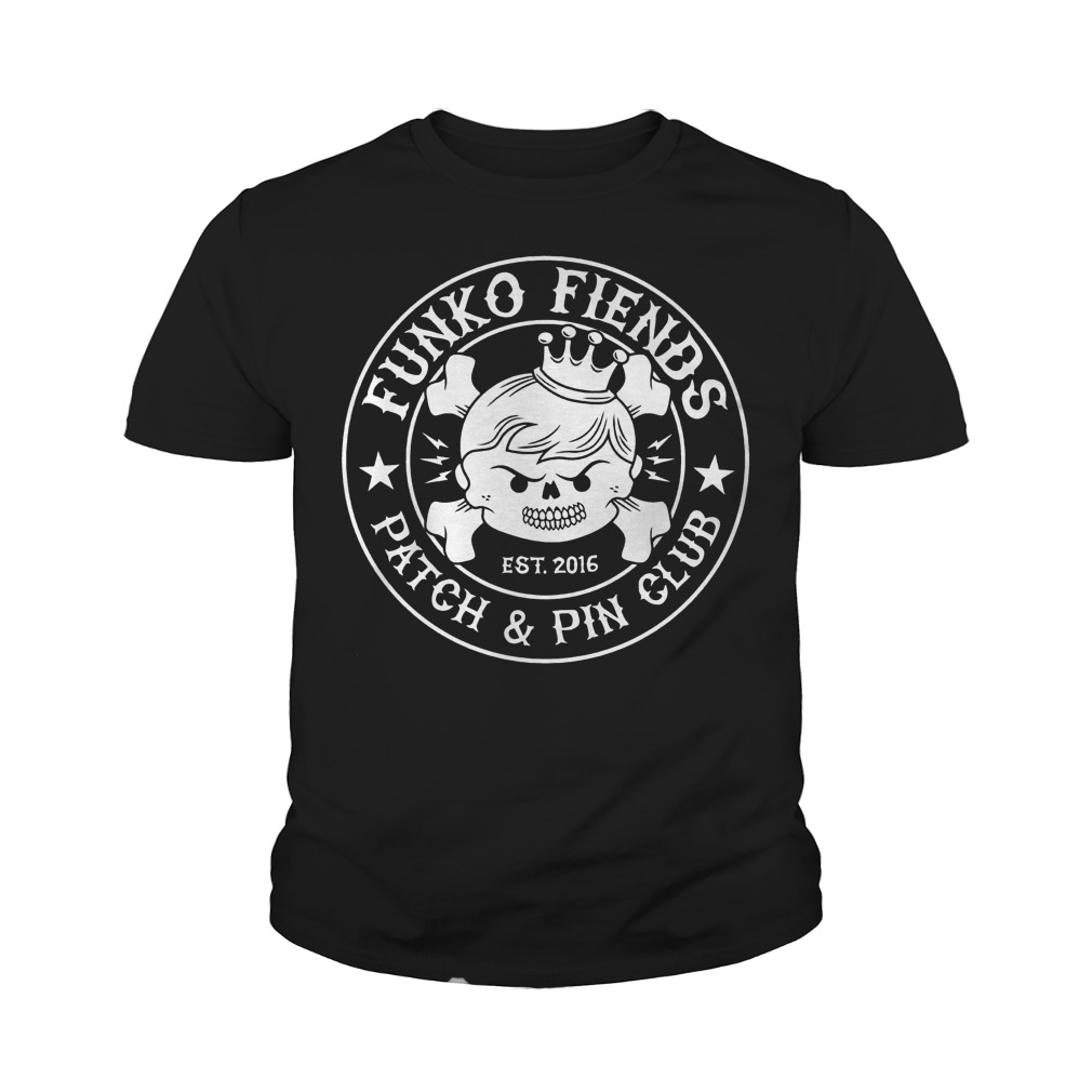 Funko Fiends Patch And Pin Club Est 2016 T-Shirt Youth Tee