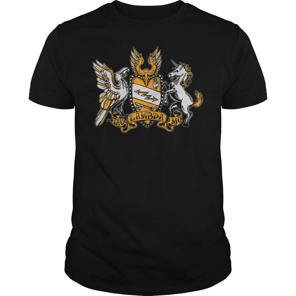 Official Tau Lambda Mu - Tam Crest T-Shirt Classic Guys / Unisex Tee