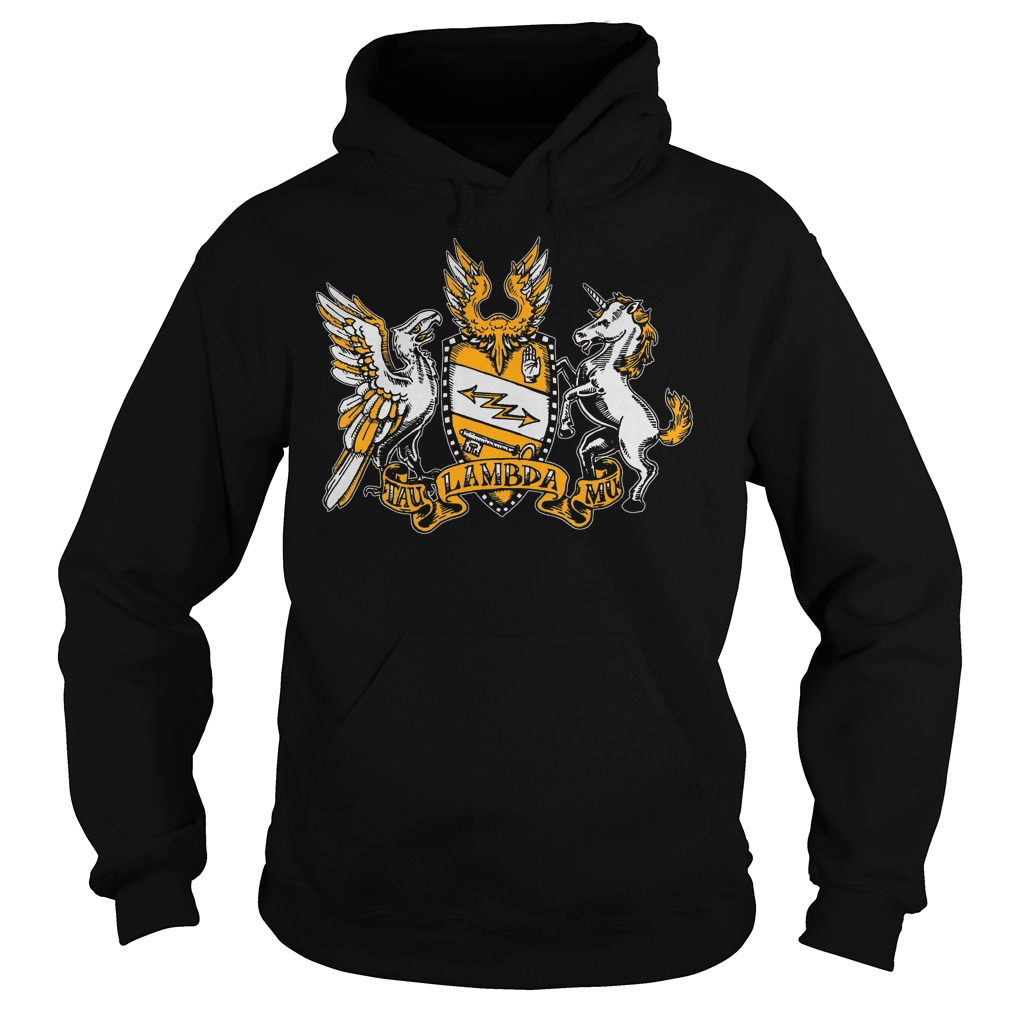 Official Tau Lambda Mu - Tam Crest T-Shirt Hoodie
