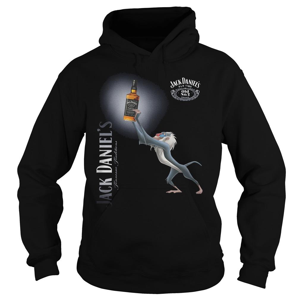 Official Rafiki Jack Daniel's Whiskey Shirt Hoodie