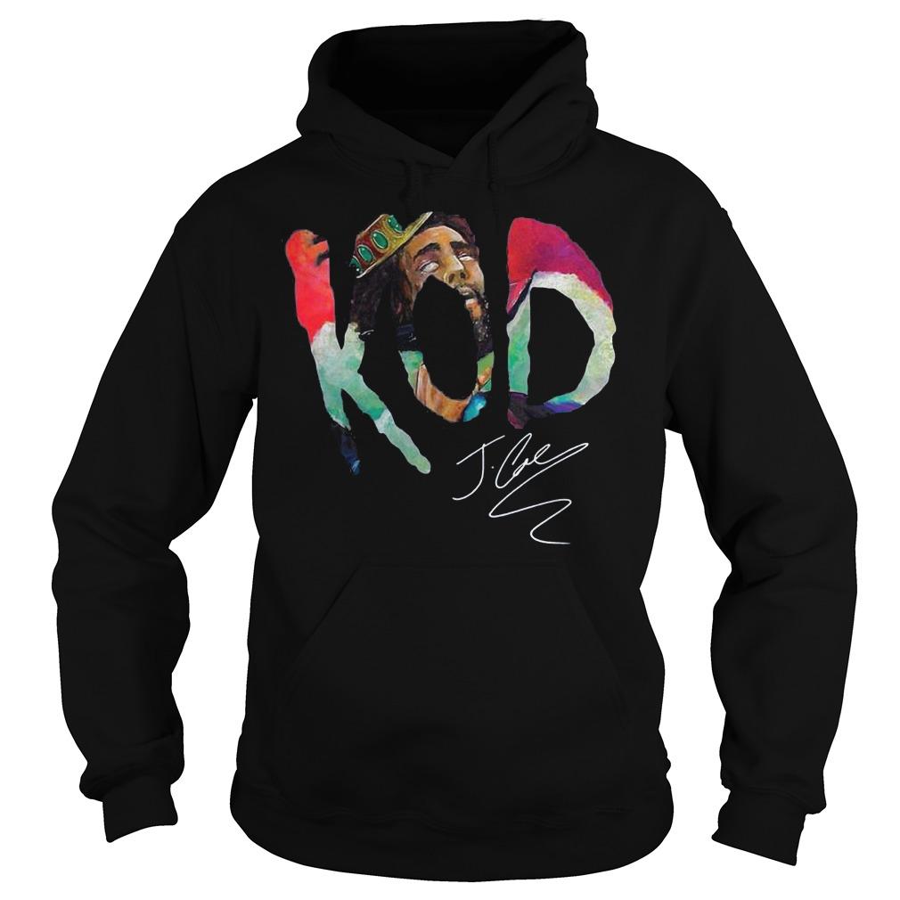 Premium Kod J Cole Signed Autograph shirt Hoodie