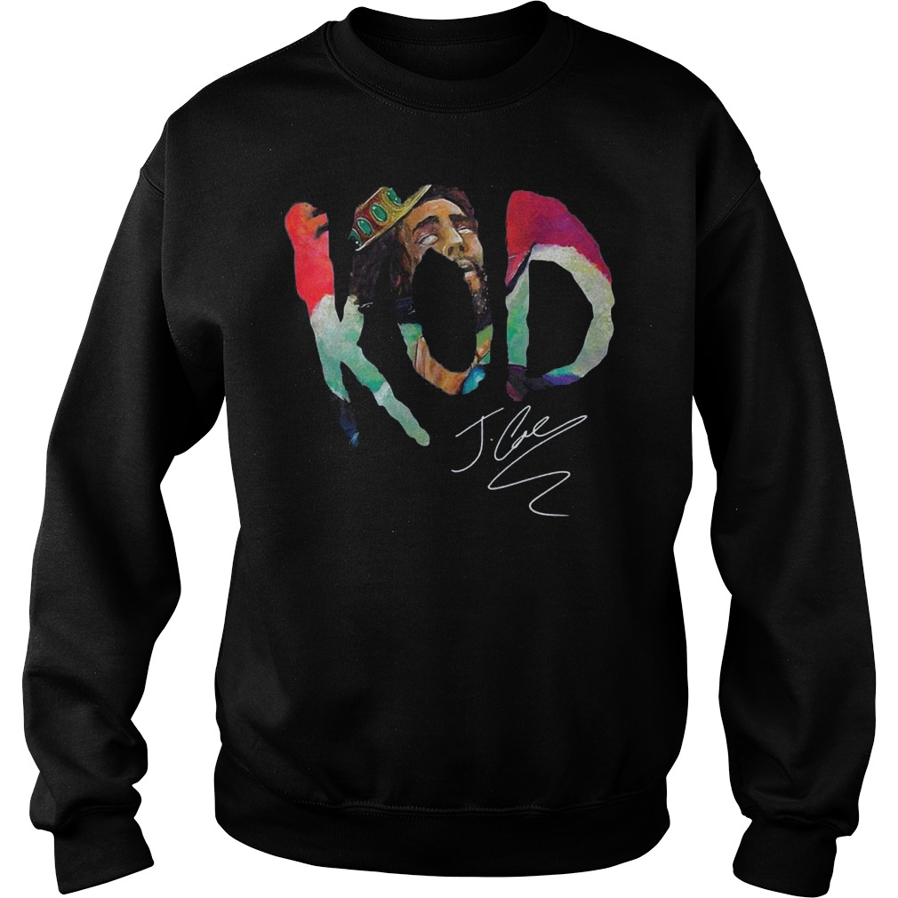 Premium Kod J Cole Signed Autograph shirt Sweatshirt Unisex