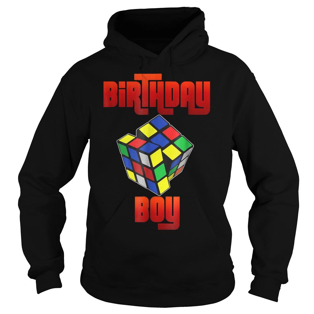 Rubik Cube Birthday Boy Shirt Hoodie