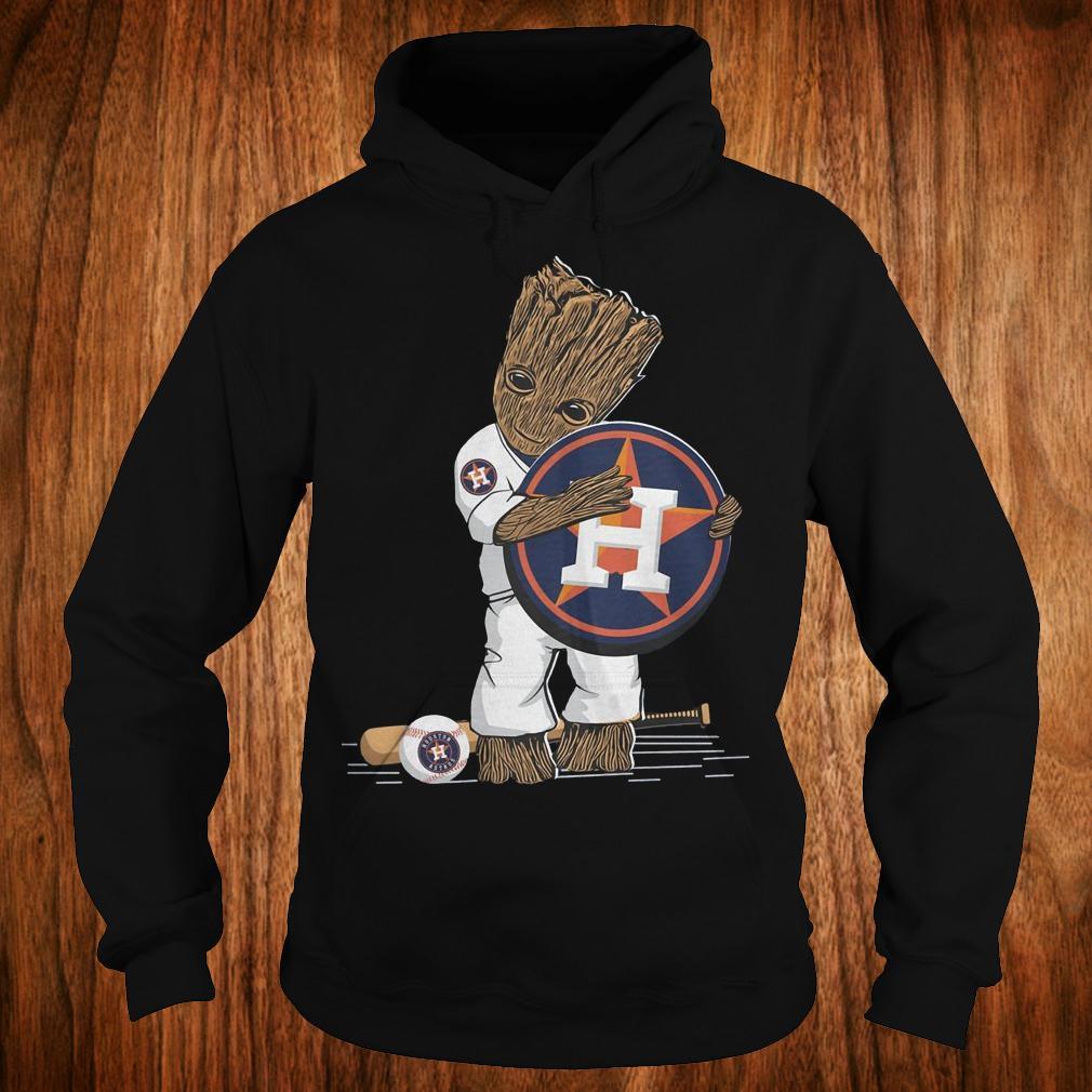 Baby Groot Houston Astros shirt Hoodie