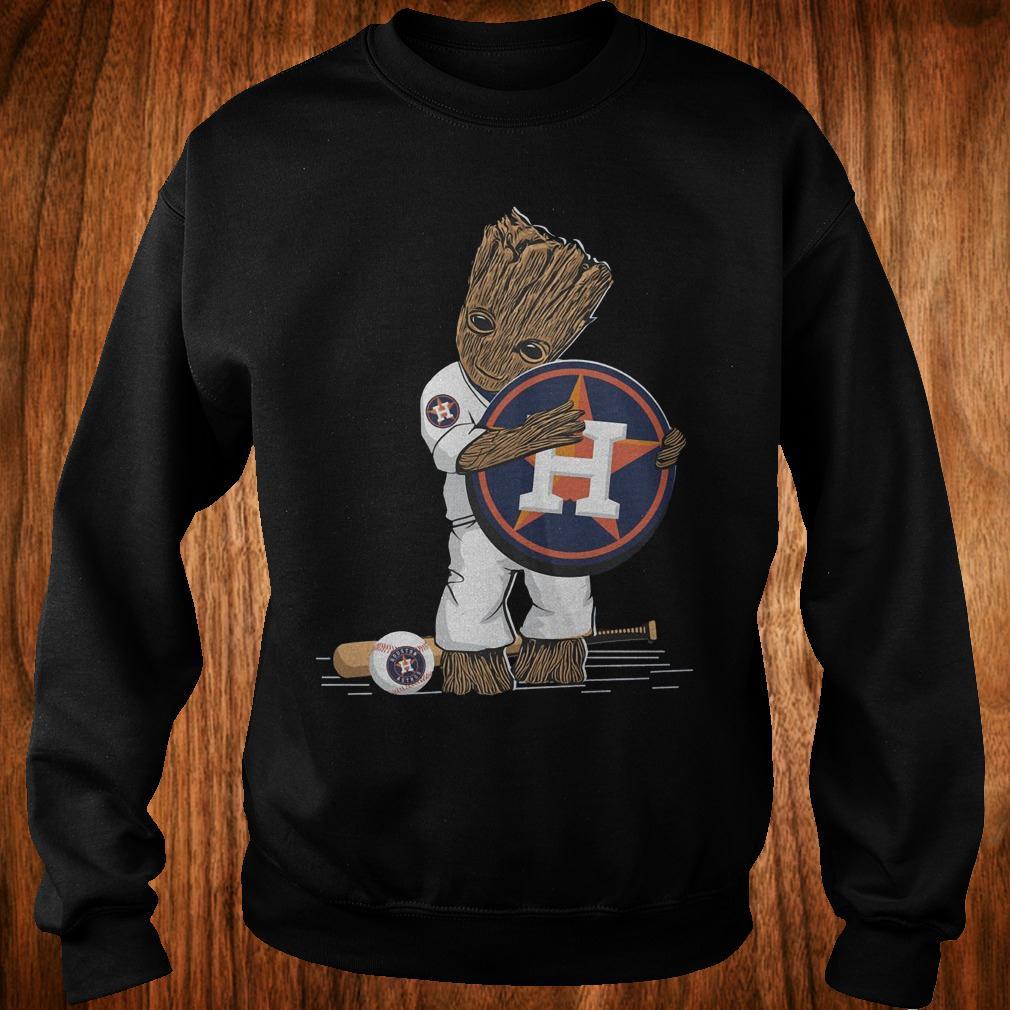 Baby Groot Houston Astros shirt Sweatshirt Unisex