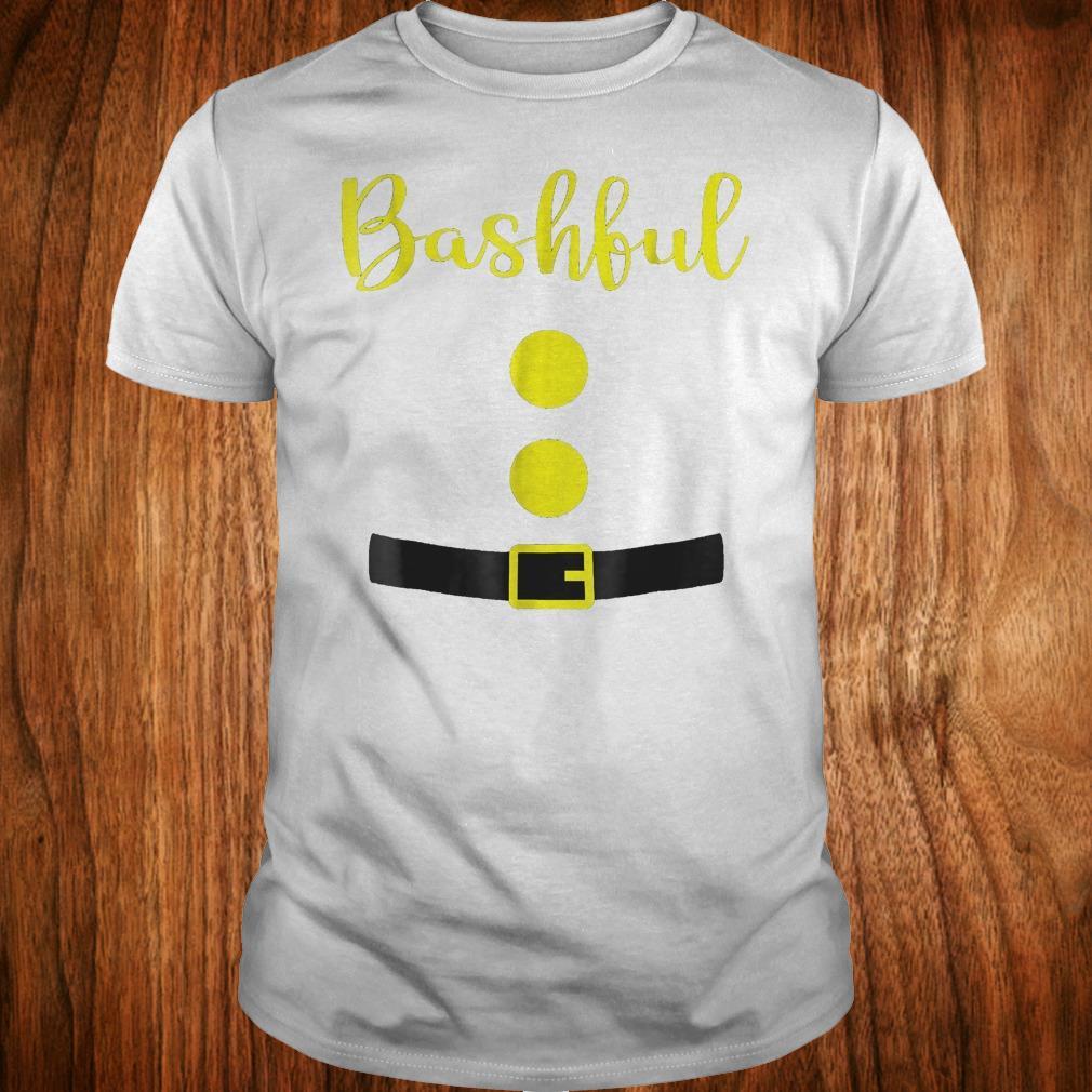 2ddfb0d82 Bashful dwarf costume funny halloween Shirt. Trending Shirt