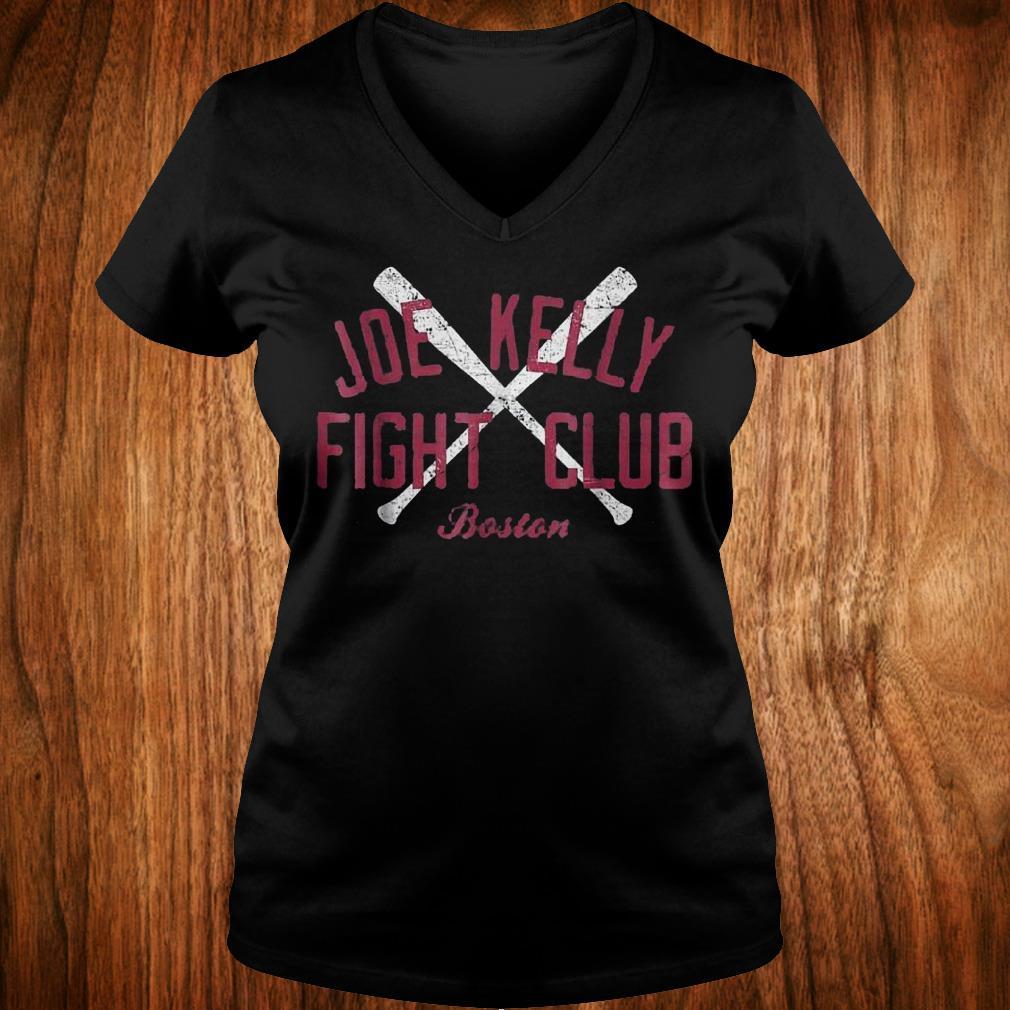 Joes Kelly Bostons fights club Shirt Ladies V-Neck