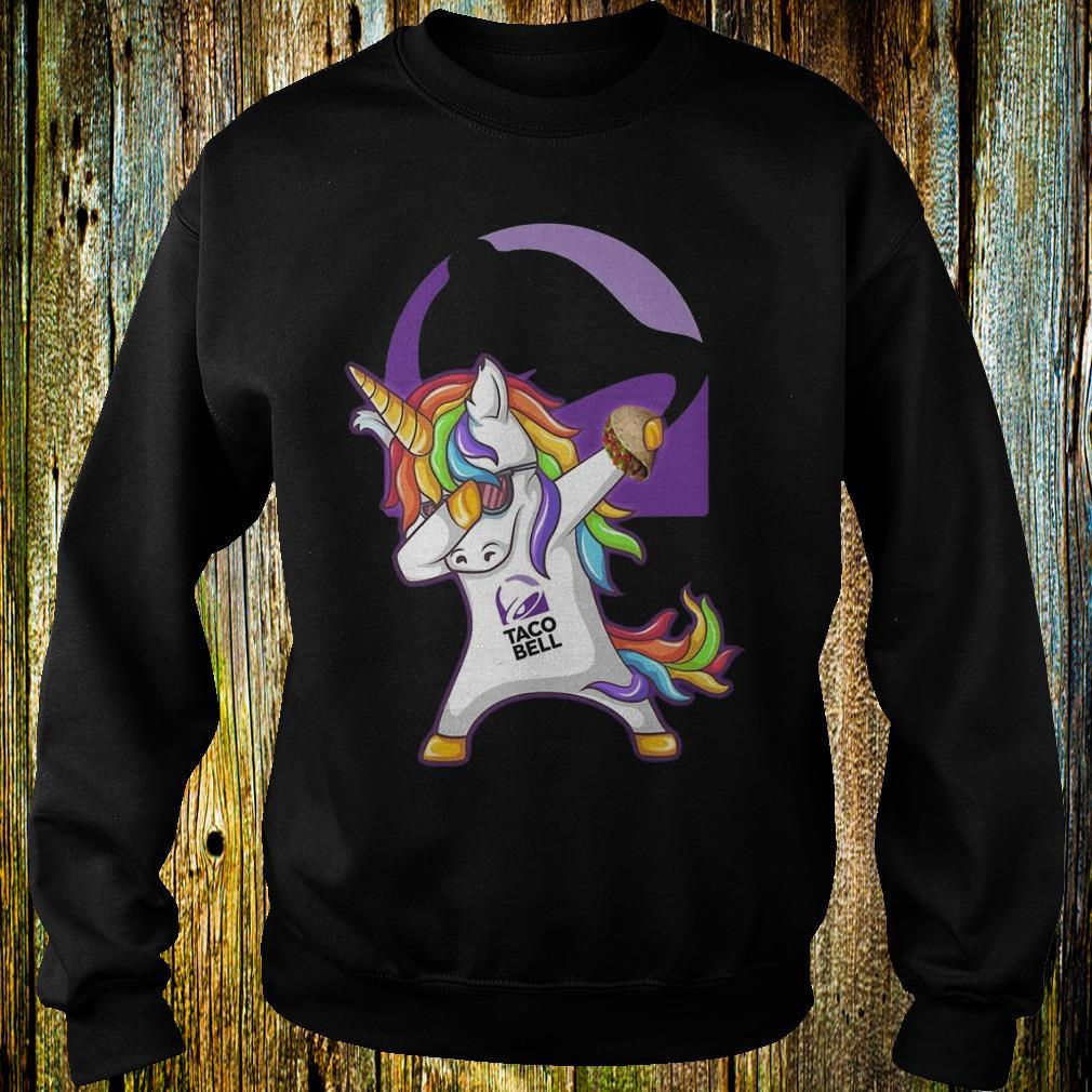 Unicorn dabbing Taco Bell Sweatshirt Unisex