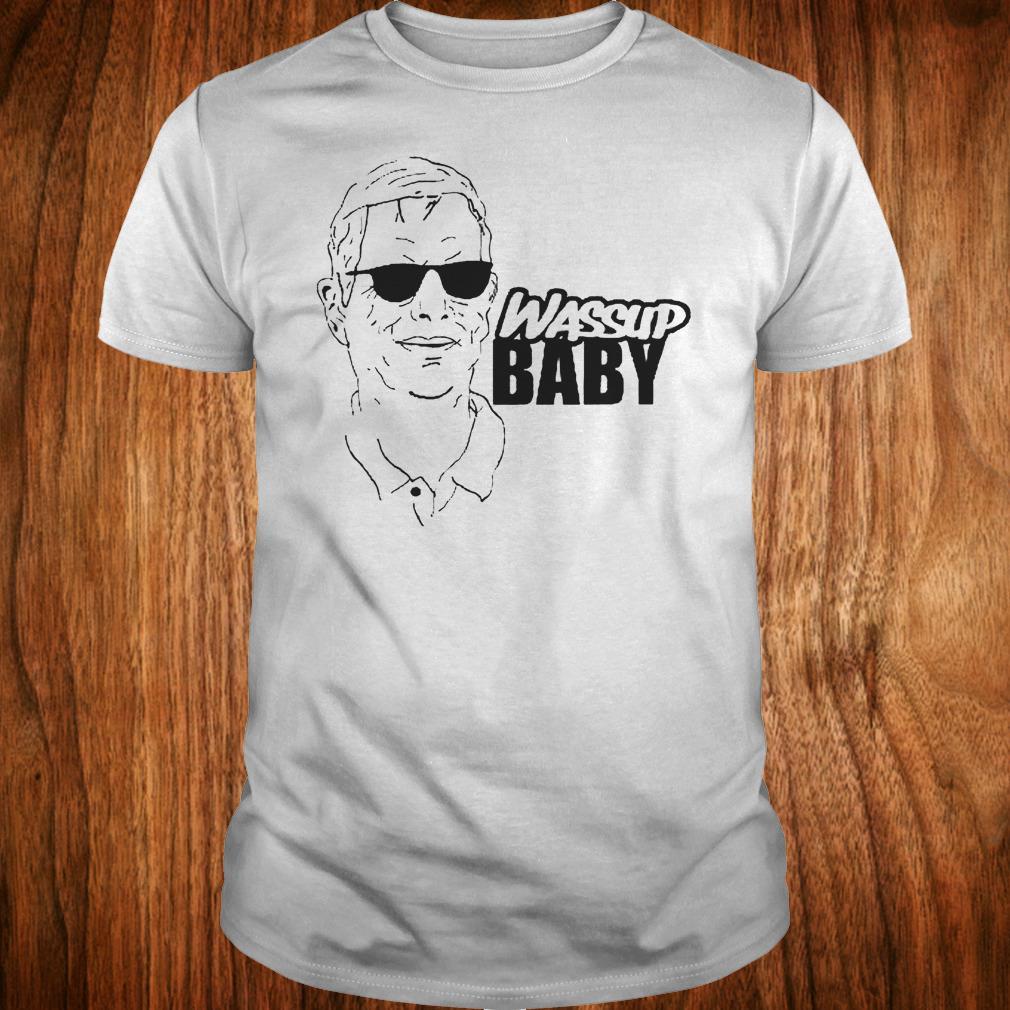 Awesome Cam Newton OC Norv Turner Wassup Baby shirt Classic Guys / Unisex Tee