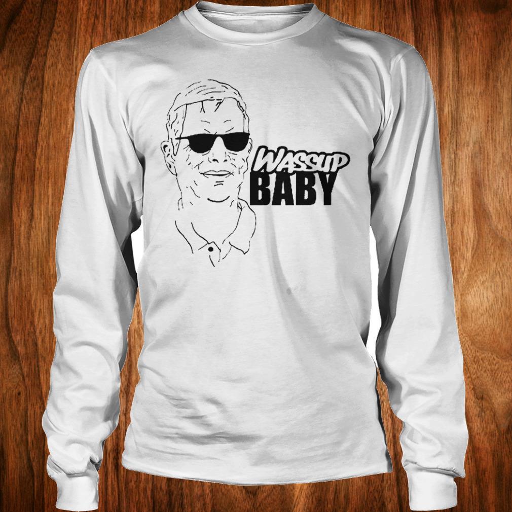 Awesome Cam Newton OC Norv Turner Wassup Baby shirt Longsleeve Tee Unisex