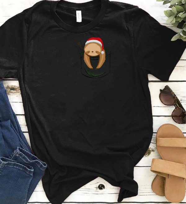 Awesome Pocket Slothmas shirt