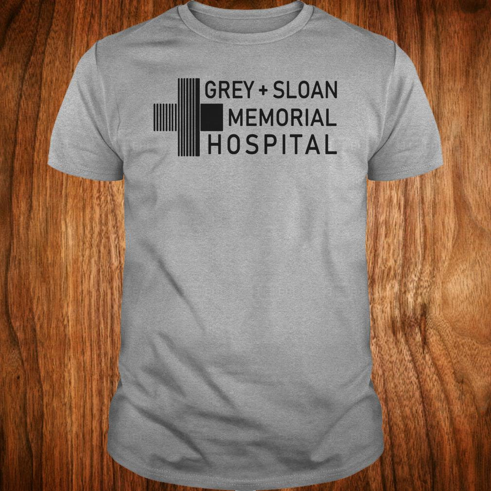 Hot Grey sloan memorial hospital shirt Classic Guys / Unisex Tee