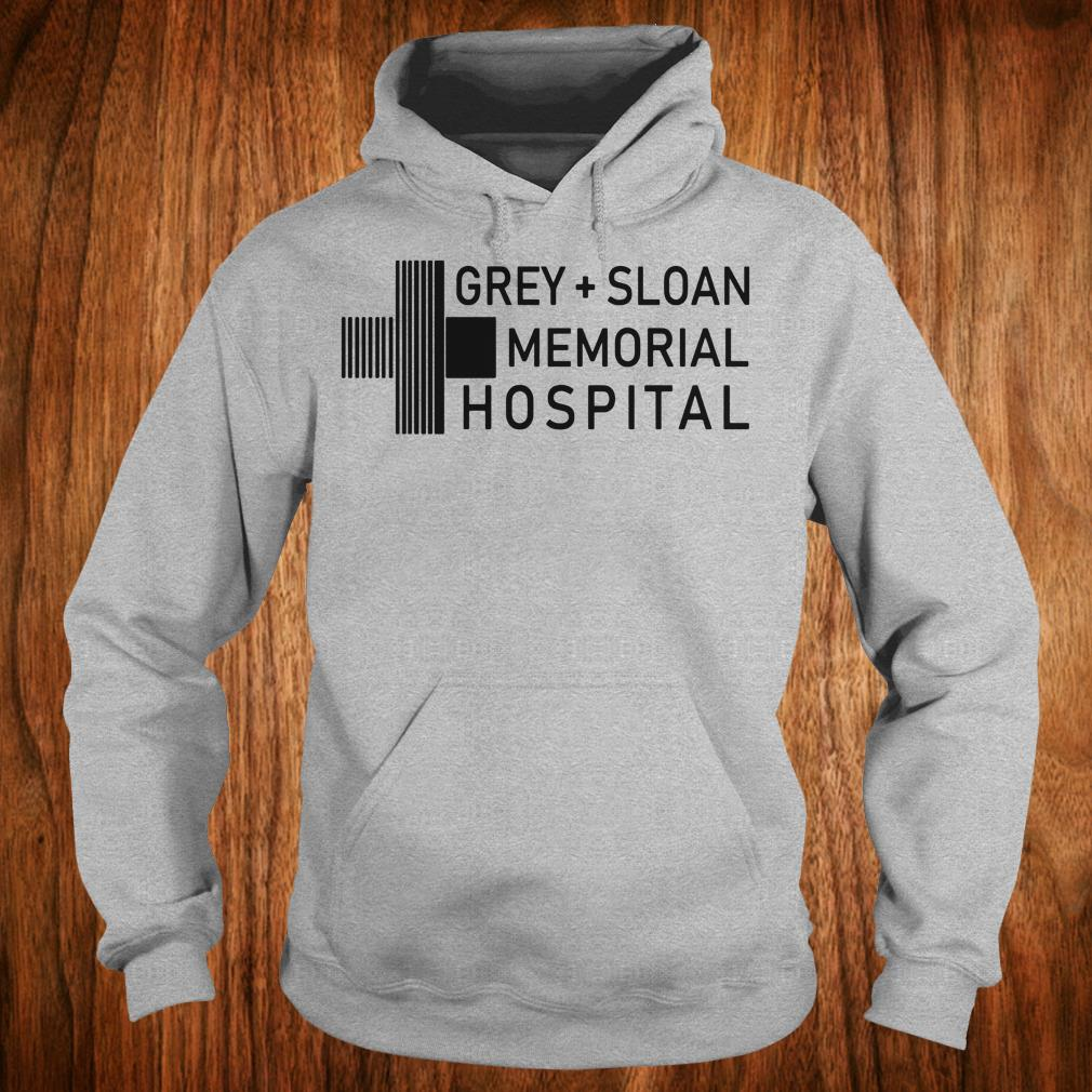 Hot Grey sloan memorial hospital shirt Hoodie