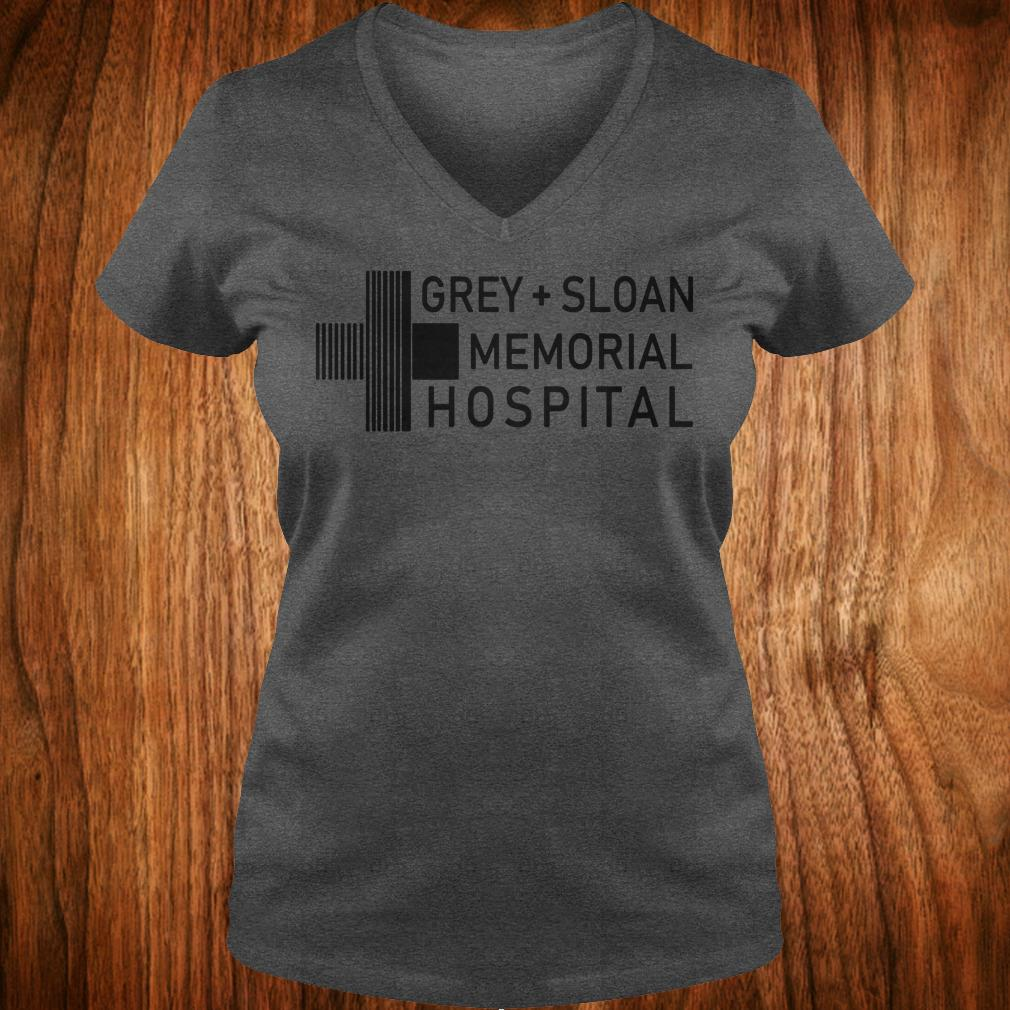 Hot Grey sloan memorial hospital shirt Ladies V-Neck