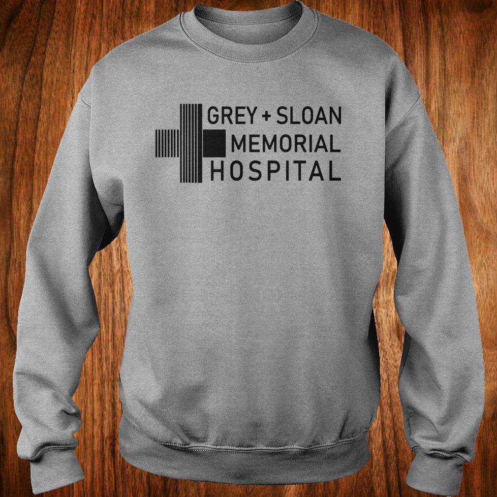 Hot Grey sloan memorial hospital shirt