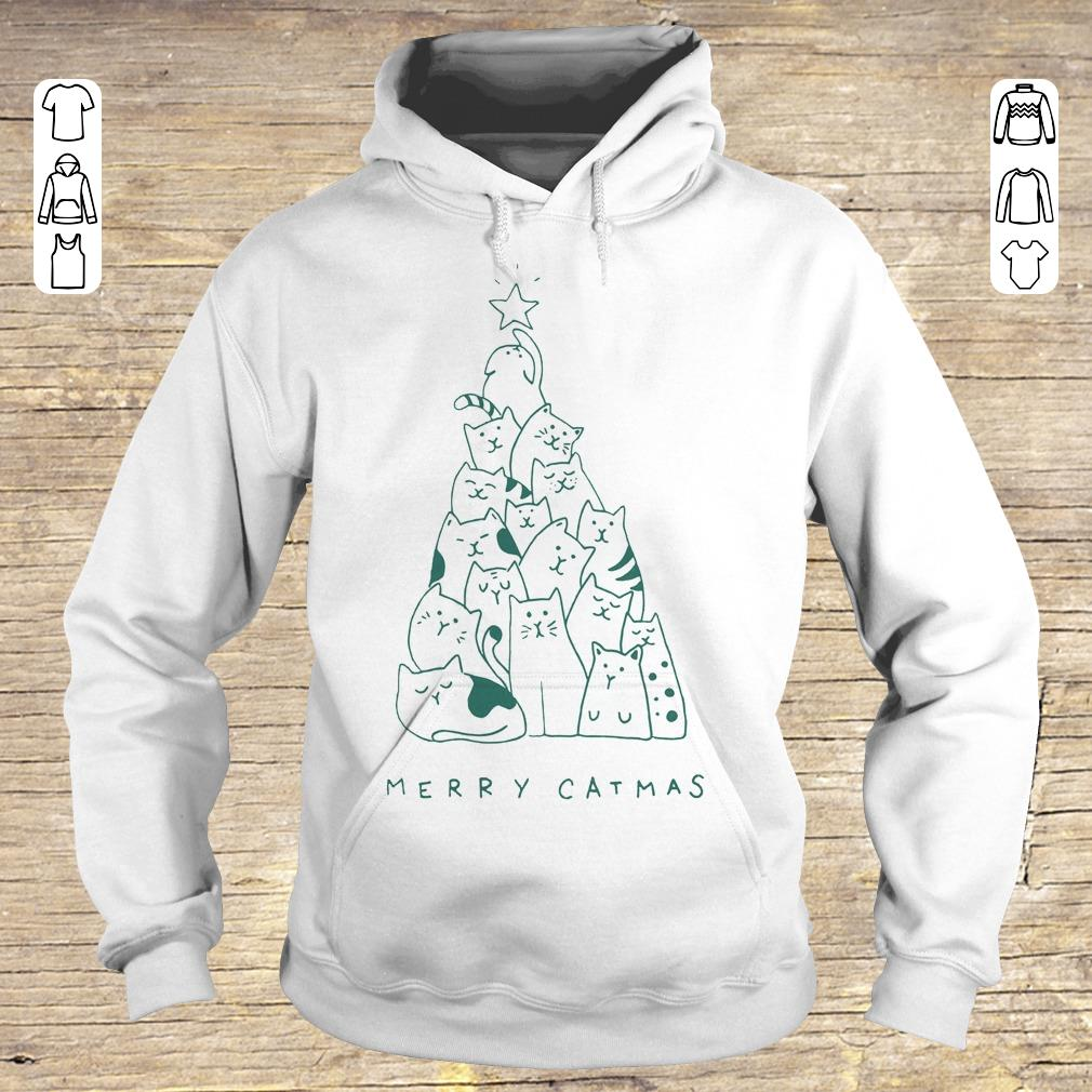 Hot Merry catmas shirt sweater Hoodie