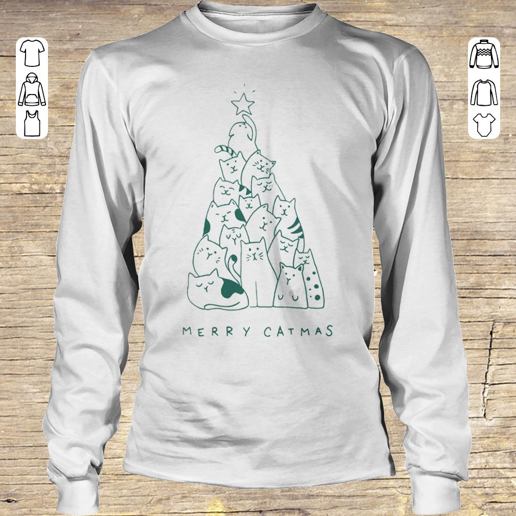 Hot Merry catmas shirt sweater Longsleeve Tee Unisex
