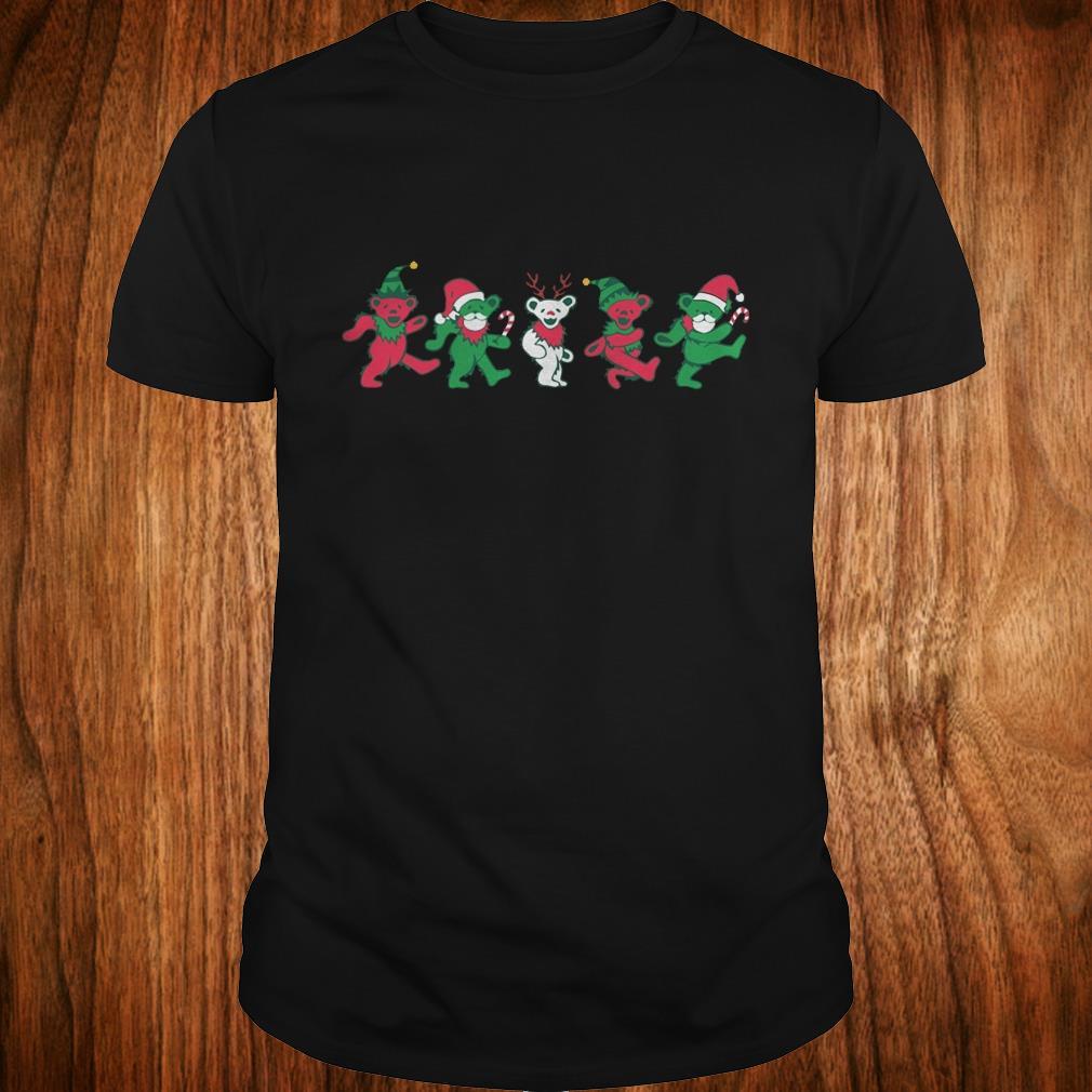 Nice Grateful dead dancing bears shirt Classic Guys / Unisex Tee