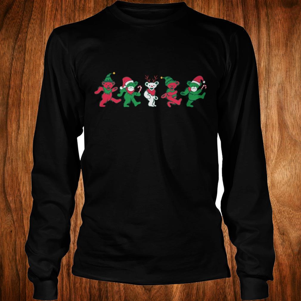 Nice Grateful dead dancing bears shirt Longsleeve Tee Unisex