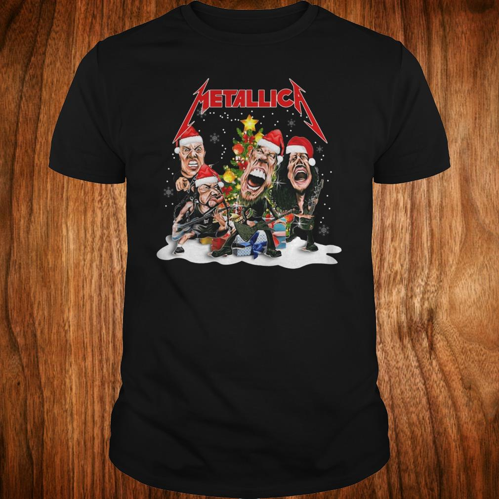Nice Metallica Christmas tree shirt Classic Guys / Unisex Tee