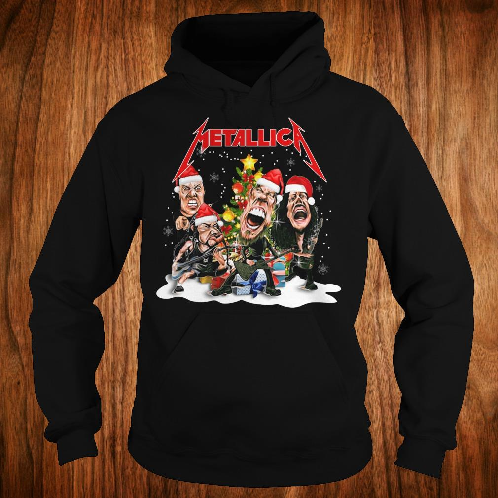 Nice Metallica Christmas tree shirt Hoodie